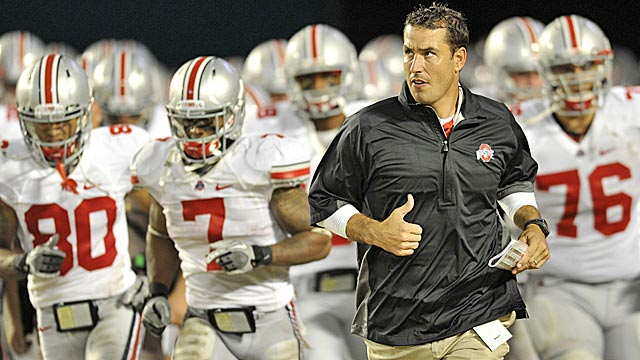 After losing to Miami, the road doesn't get any easier for Luke Fickell and Ohio State. (US Presswire)