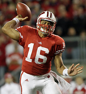 Wisconsin QB Russell Wilson has compiled 1,531 of total offense on 133 plays -- an average of 11.51 yards per play. (Getty Images)