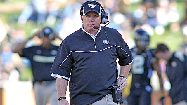 How much longer will it be before a bigger school takes notice of Jim Grobe's success? (US Presswire)