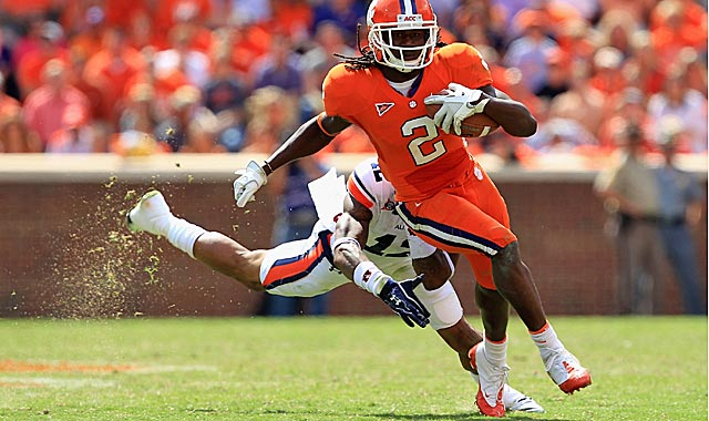 Sammy Watkins is second in the ACC in receiving yards with 728. (Getty Images)