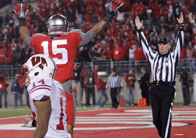 Wisconsin took another punch to the gut with its last-second loss to Ohio State on Saturday. (AP)