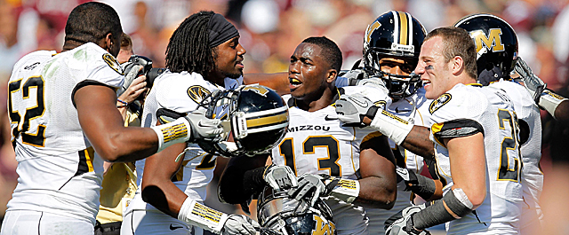 Missouri and the SEC have a surprising number of things in common, except for football tradition. (Getty Images)
