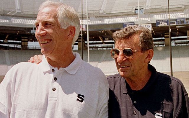 The allegations against Jerry Sandusky may forever stain Joe Paterno's Penn State legacy. (AP)