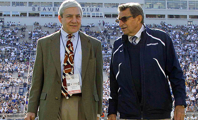 Paterno not acting on Jerry Sandusky's issues cost him and PSU president Graham Spanier their jobs. (AP)