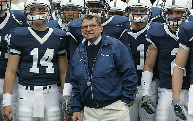 Joe Paterno's Penn State brand was built on doing things the right way ... and winning helped. (Getty Images)