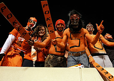 The good news for OK State? It beat OU. The bad news? The Cowboys lost 6-6 to Iowa State. (Getty Images)