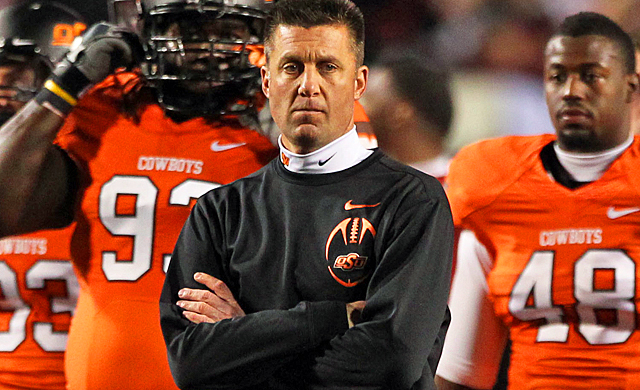 Despite having a better r?sum? than Alabama, Mike Gundy's Cowboys are going to the Fiesta. (US Presswire)
