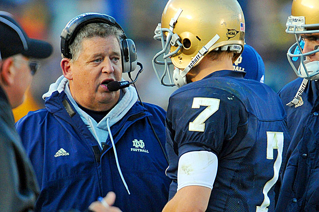 Weis, whose last head coaching stint was at Notre Dame, also has three Super Bowl rings. (US Presswire)