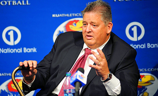 Charlie Weis has softened his tone since leaving Notre Dame, but the message is loud and clear. (US Presswire)