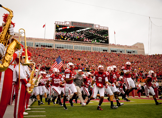 Even with the loss of Nebraska, The Big 12 could be making $20-$22 million per year. (Getty Images)