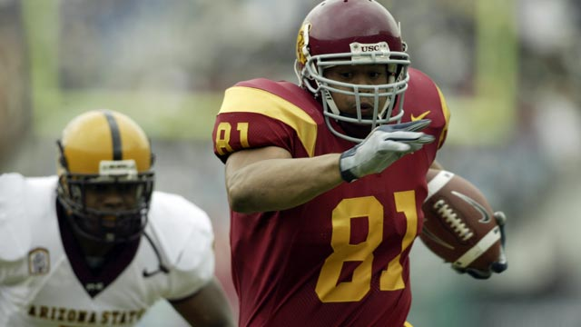 Holmes, who played for the Trojans with Reggie Bush, calls the OSU penalties 'mind-boggling.' (US Presswire)