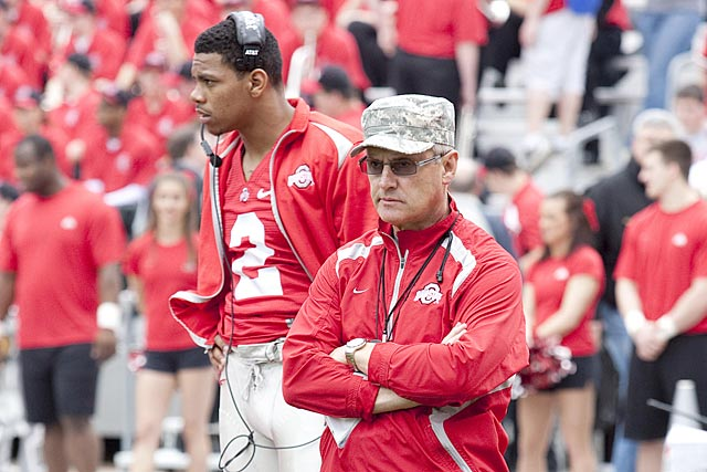 Jim Tressel's attempts to protect Terrelle Pryor hurts Ohio State and damages his career. (US Presswire)