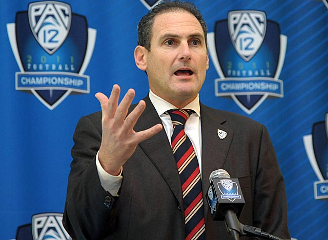 Commissioner Larry Scott has the Pac-12 looking at China as the next frontier. (US Presswire)