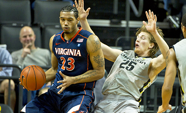Mike Scott and Virginia could be only team outside of UNC and Duke with a chance to win the ACC. (US Presswire)