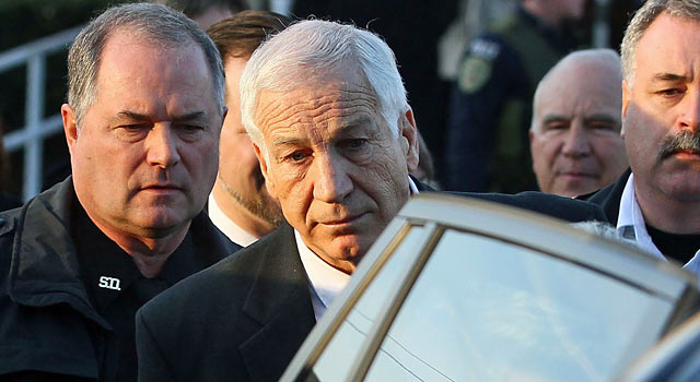The scandal involving Jerry Sandusky and Penn State has been a major burden on the NCAA. (Getty Images)