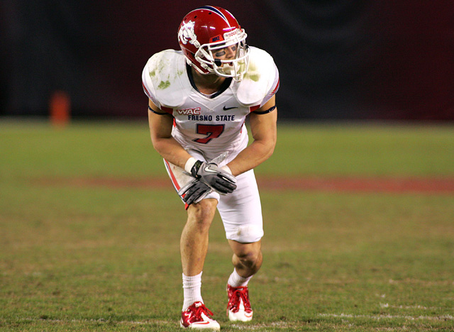 Fresno State's WR Devon Wylie is drawing Wes Welker comparisons. (US Presswire)
