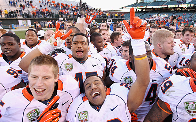 Illinois' victory over UCLA in the Kraft Hunger Bowl was not a Clash of the Titans. (Getty Images)