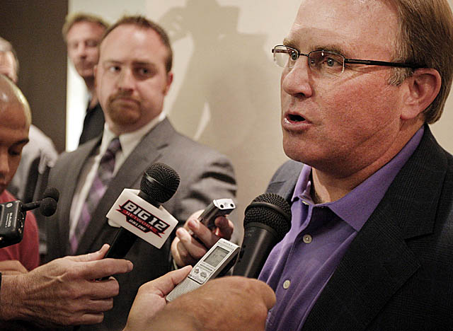 In 2010, Gary Patterson led the only Top 25 program free from players with criminal records. (Getty Images)