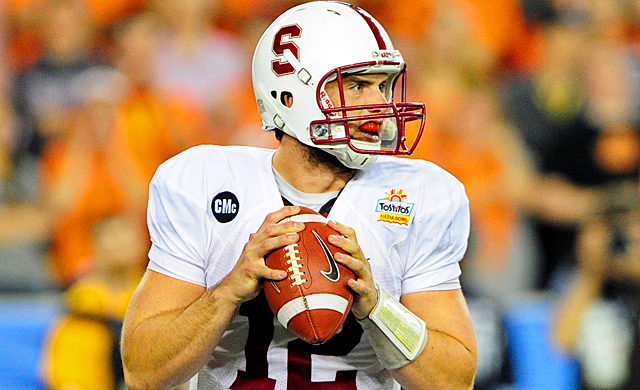 Andrew Luck's success in college lends itself to Stanford's recruiting for the future. (US Presswire)