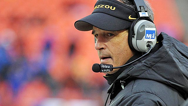 Pinkel knows Missouri needs to upgrade if it wants to be competitive in the rugged SEC. (US Presswire)