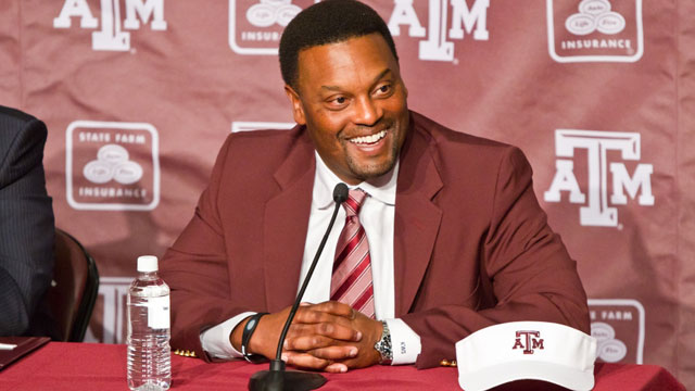 Sumlin wants to change the atmosphere in College Station. (Photo courtesy of Texas A&M)