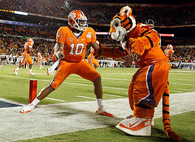 Wide receiver Sammy Watkins, who will be a sophomore, is one of Clemson's returning starters. (Getty Images)