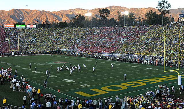 The Rose Bowl remains a difficult piece in the postseason puzzle. (US Presswire)