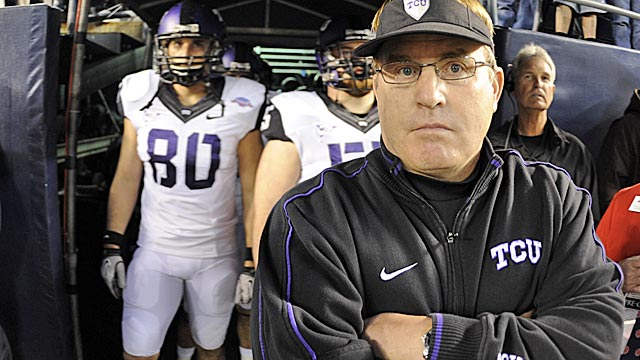 Four of Gary Patterson's TCU players were caught selling pot in a campus-wide drug bust. (US Presswire)