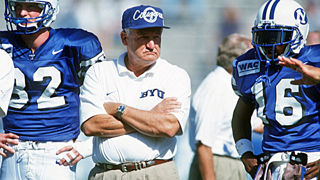 LaVell Edwards once led BYU to a national title in 1984 as WAC members. (US Presswire)