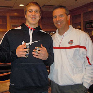 Linebacker Alex Anzalone was a big catch for Urban Meyer's first recruiting class at Ohio State. (Provided to CBSSports.com)