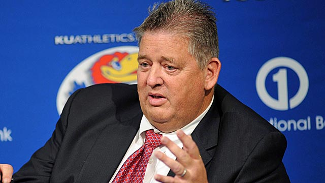 Dennis Dodd says if Kansas gets to a bowl every few years, Charlie Weis will be fine. (US Presswire)