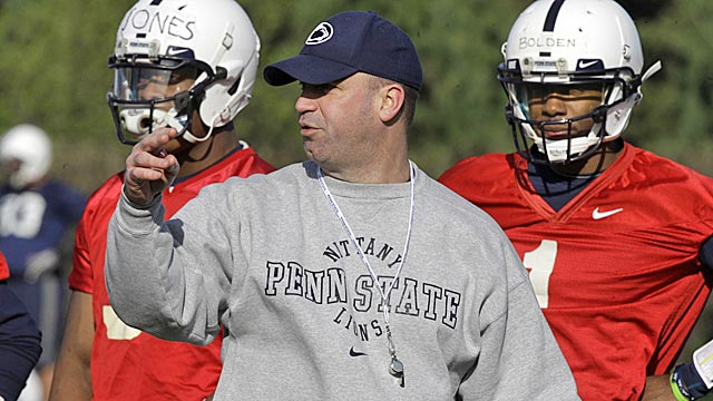 O'Brien has Penn State fans excited about the prospect of a wide-open offense. (AP)