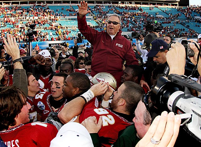 The Seminoles, especially under Bobby Bowden, enjoyed years of domination in the ACC. (Getty Images)