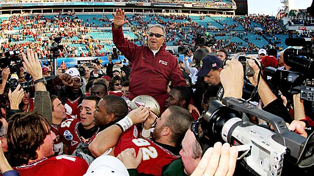 Florida State's program slipped as the Bowden Era wound down. (Getty Images)