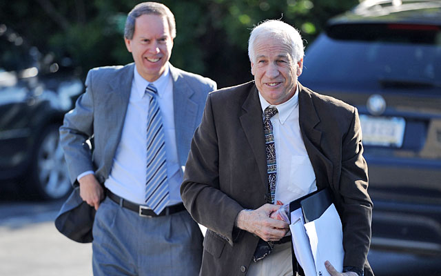 Sandusky jury selection continues with three spots left to fill - NCAA ...