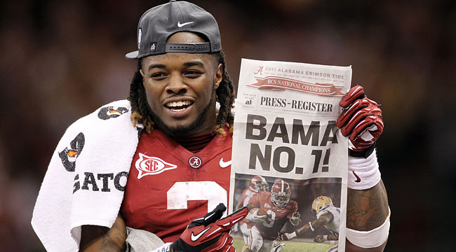 Alabama gets revenge and beats LSU in an all-SEC Championship game. (US Presswire)