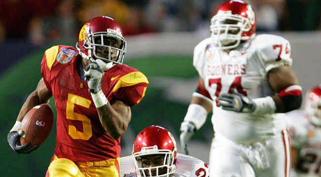 USC was later forced to vacate the 2005 National Championship. (Getty)