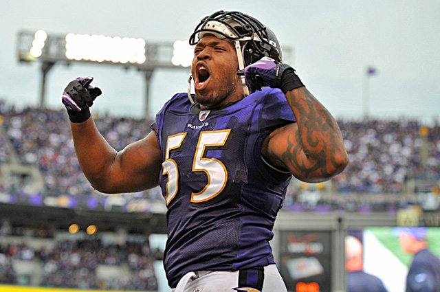 Suggs contends that he wasn't hurt playing basketball but was injured doing conditioning drills. (Getty Images)