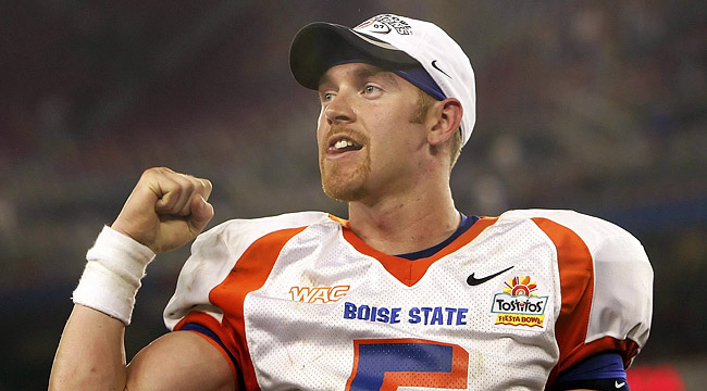Jared Zabransky and Boise State changed the way the nation looked at non-BCS teams. (Getty)