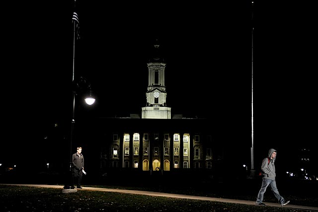 Jerry Sandusky is in jail, but there will be more dark days ahead for Penn State University. (Getty Images)