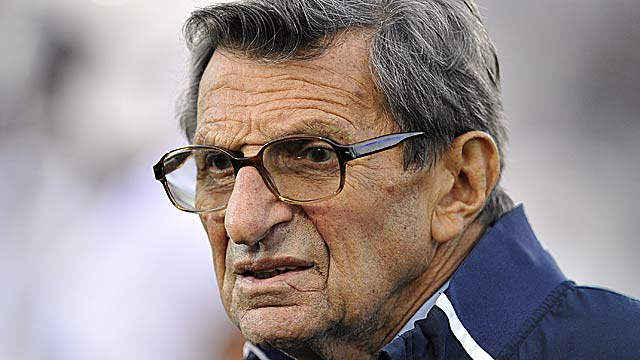 Joe Paterno's family contends 'someone in a position of authority' is trying to smear the late coach. (AP)