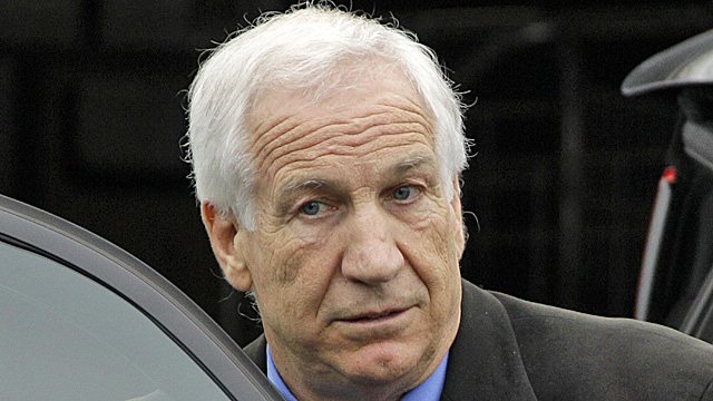 Jerry Sandusky has had another appeal for a new trial denied. (AP)