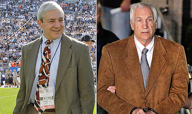 Spanier claims he was never told of any incident of sexual abuse involving Jerry Sandusky. (AP)