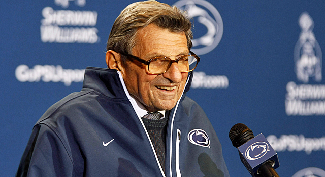 Paterno was on board with former FBI director Louis Freeh investigating the scandal. (US Presswire)