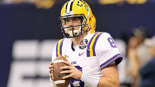 Mettenberger began his career at Georgia before making a stop at Butler Community College. (US Presswire)