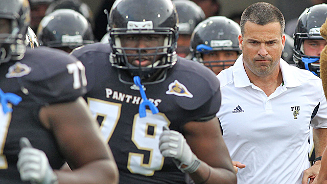 Cristobal's fledgling program is arguably ahead of Boise State at the same stage. (US Presswire)