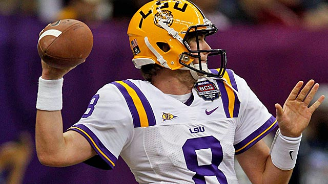 Zach Mattenberger will get his shot as LSU's starting quarterback this season. (US Presswire)