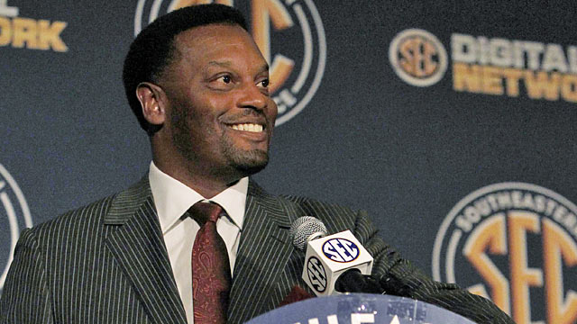 Sumlin and the Aggies have plenty of reason for optimism entering their first year in the SEC. (AP)