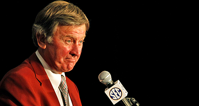 Confidence is high for Spurrier as he prepares for the upcoming SEC campaign. (AP)