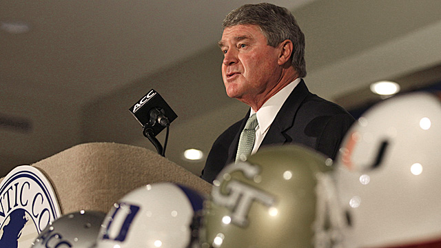 Swofford says he didn't have to talk Florida State off the ledge. (AP)